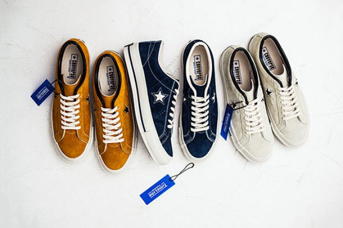 "Converse Japan One Star 40th Anniversary ""TimeLine"" Pack"