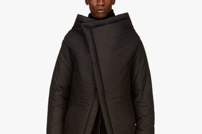 "D.GNAK by Kang.D Layered Asymmetrical Parka ""Black"""