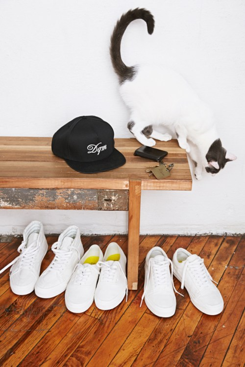 """DQM x Vans 2014 Summer """"Square Ones"""" Collection"""