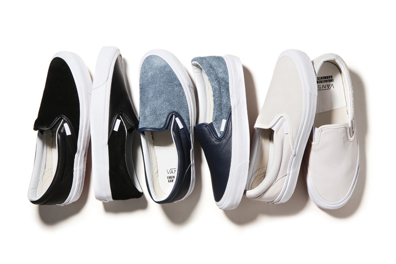 Engineered Garments x Vault by Vans 2014 Fall OG Classic Slip-On LX for NEPENTHES