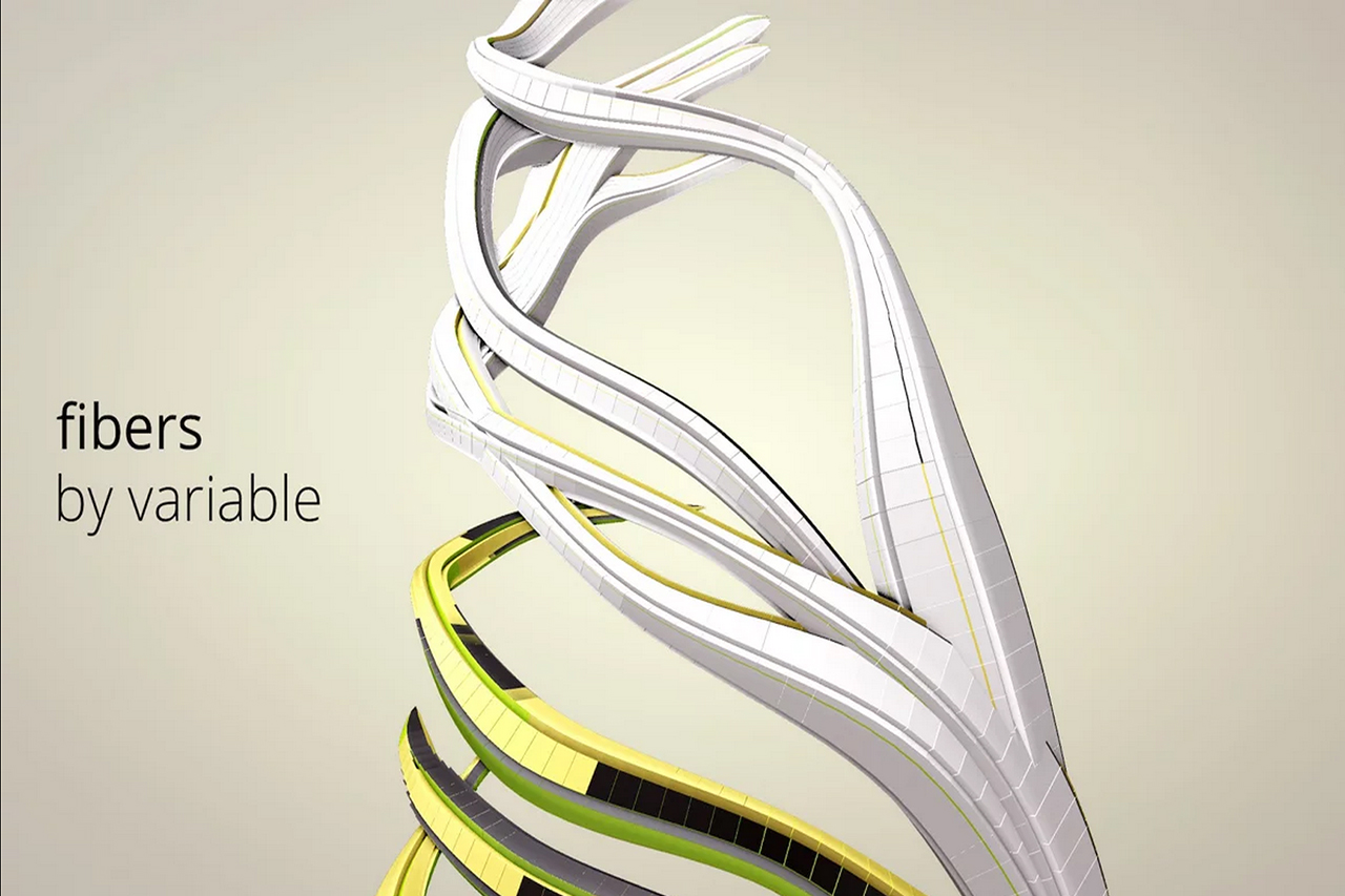 Fibers: Visualizing Training Data from the Nike FuelBand