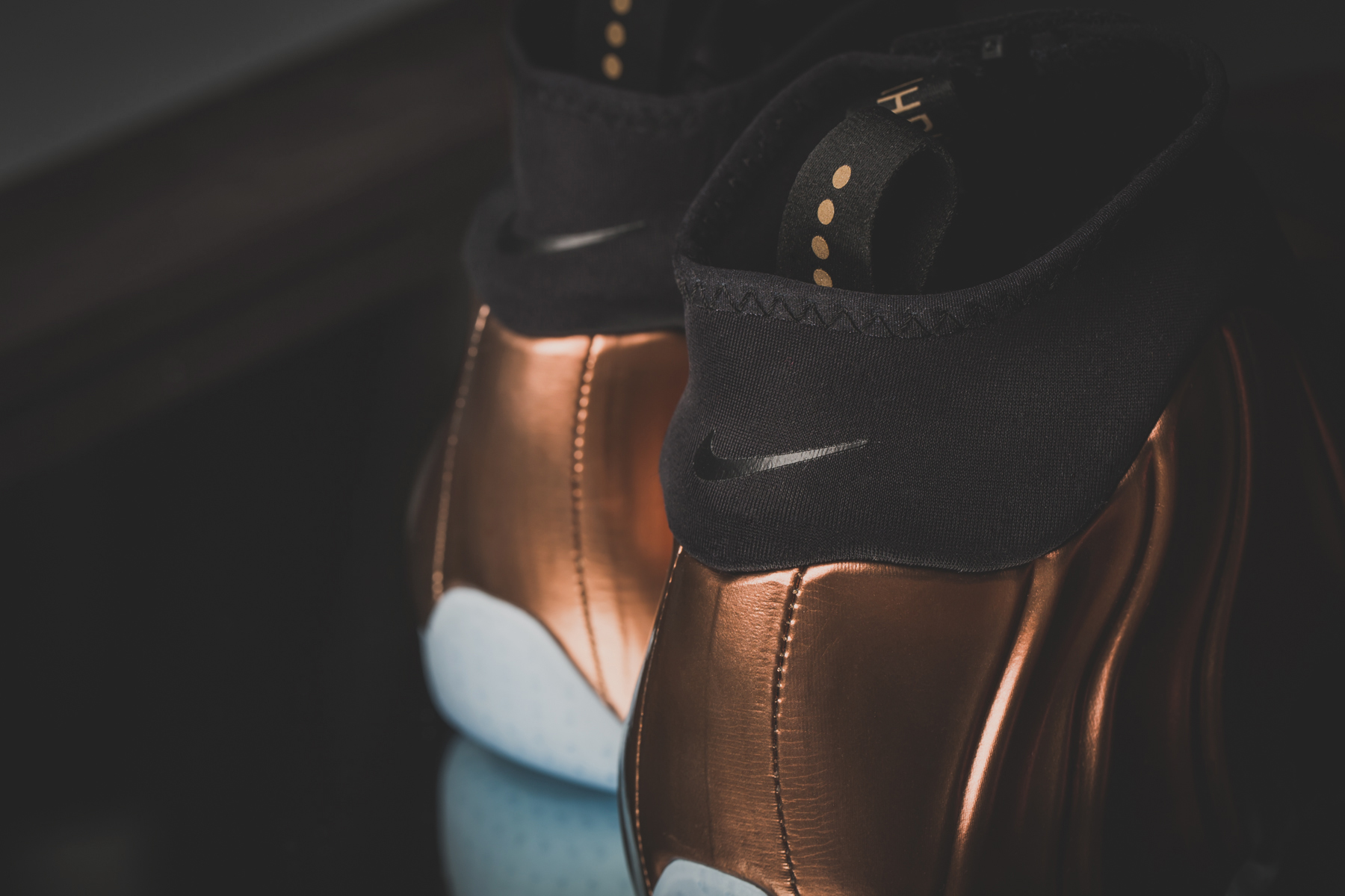 nike air flightposite prm copper