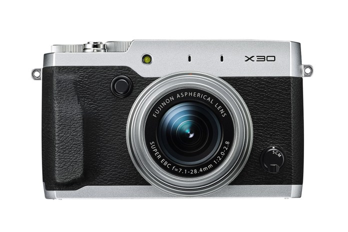 Fujifilm X30 Enthusiast Compact Camera