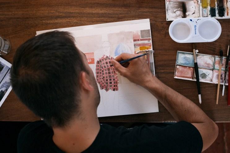 Gorey Speaks On His Illustrations for HUF's 2014 Fall Lookbook