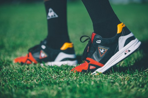 "Highs and Lows x Le Coq Sportif R1000 ""Swans"" Pack"