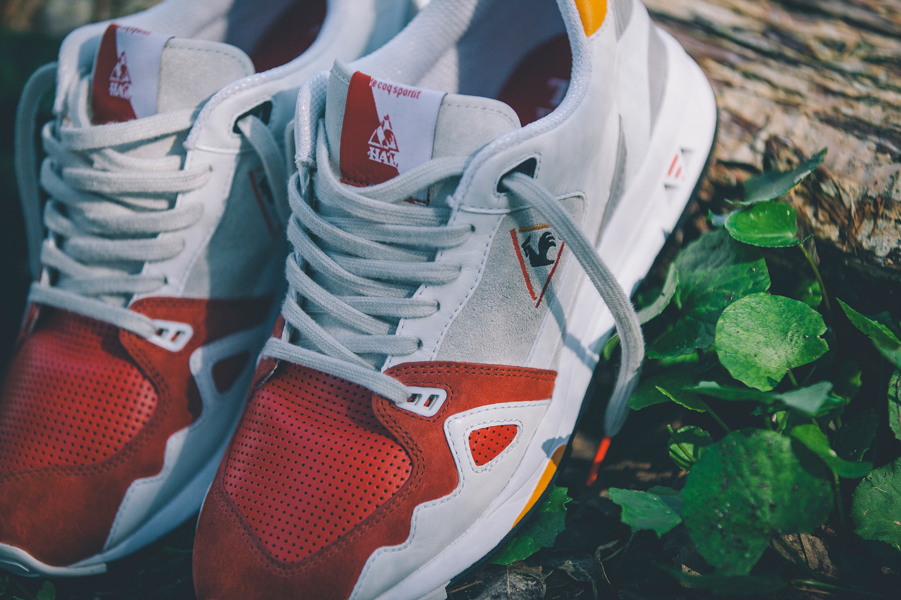 highs and lows x le coq sportif r1000 swans pack