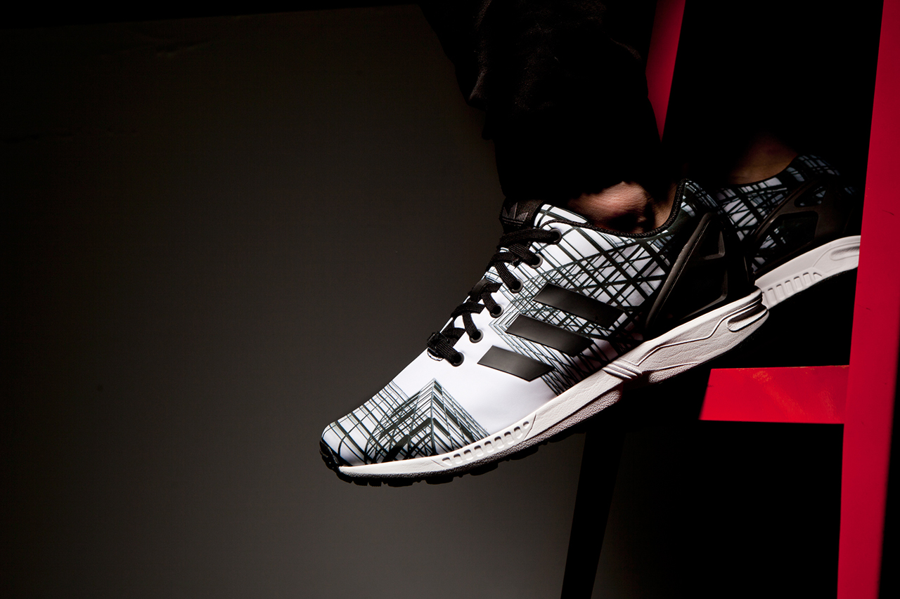 HYPEBEAST Tests Out the adidas miZXFLUX App