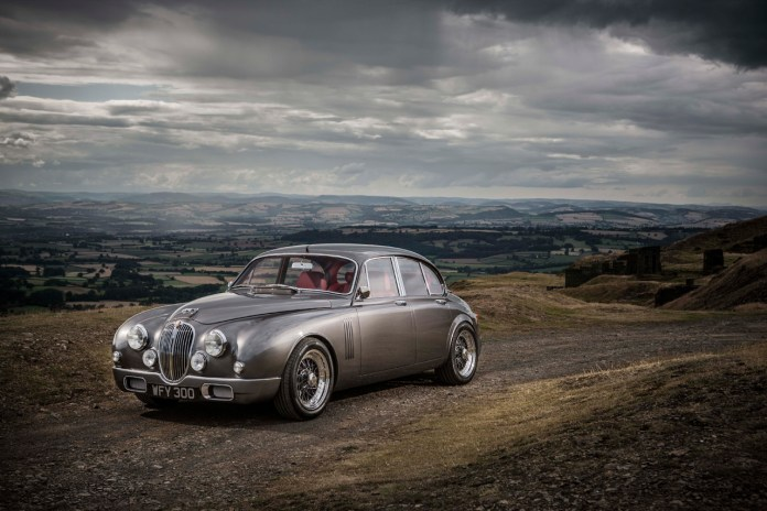 Jaguar's Design Director Ian Callum Creates a Reinterpreted Classic Mark 2