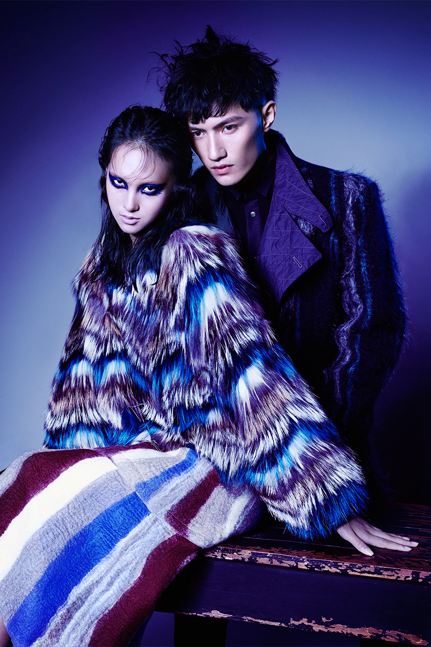 joyce presents first autumn winter 2014 campaign and new revamped website