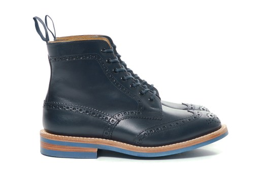 Junya Watanabe MAN x Tricker's 2014 Fall/Winter Steer Smooth Boots