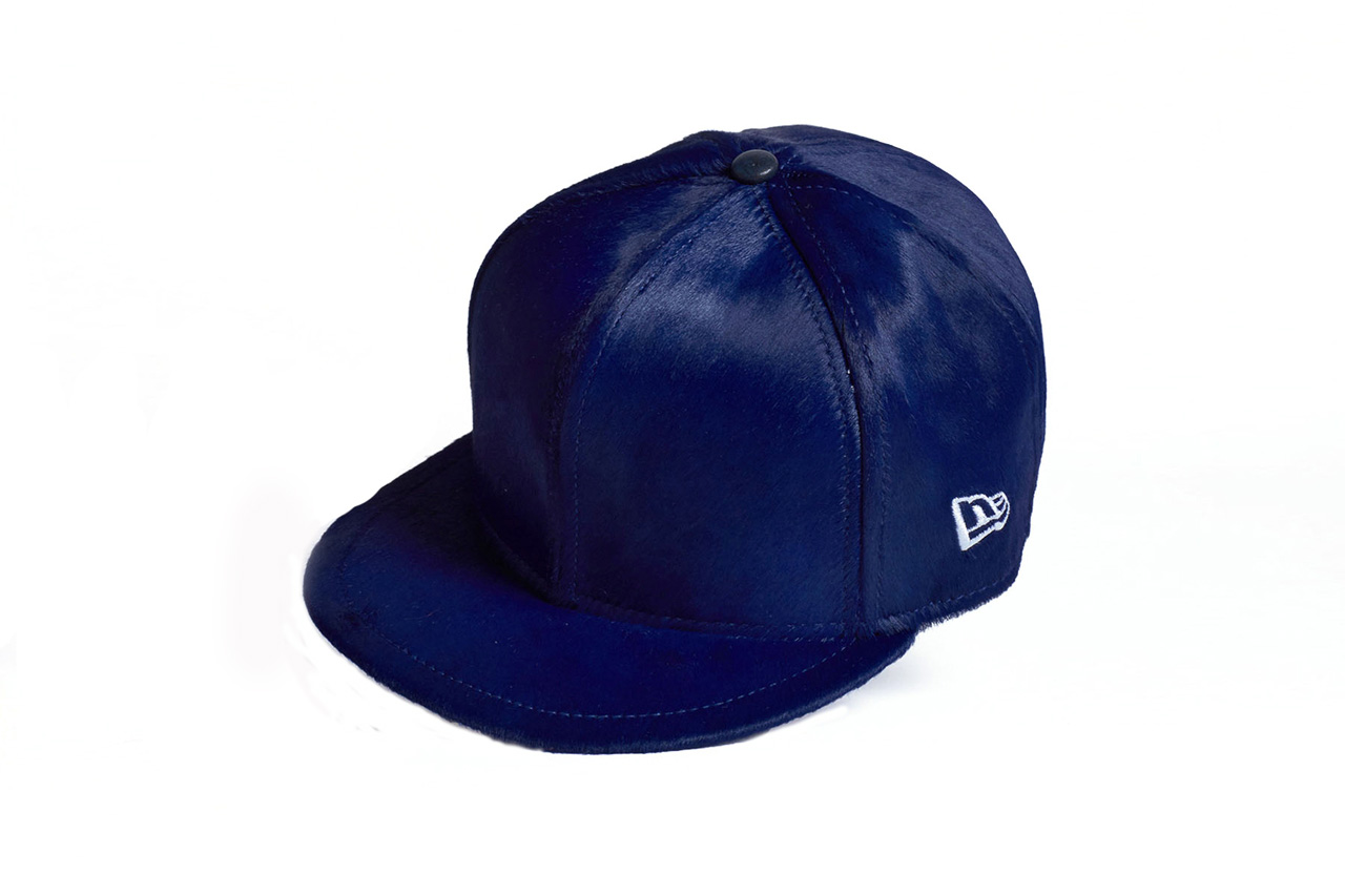 juun j calf hair new era caps