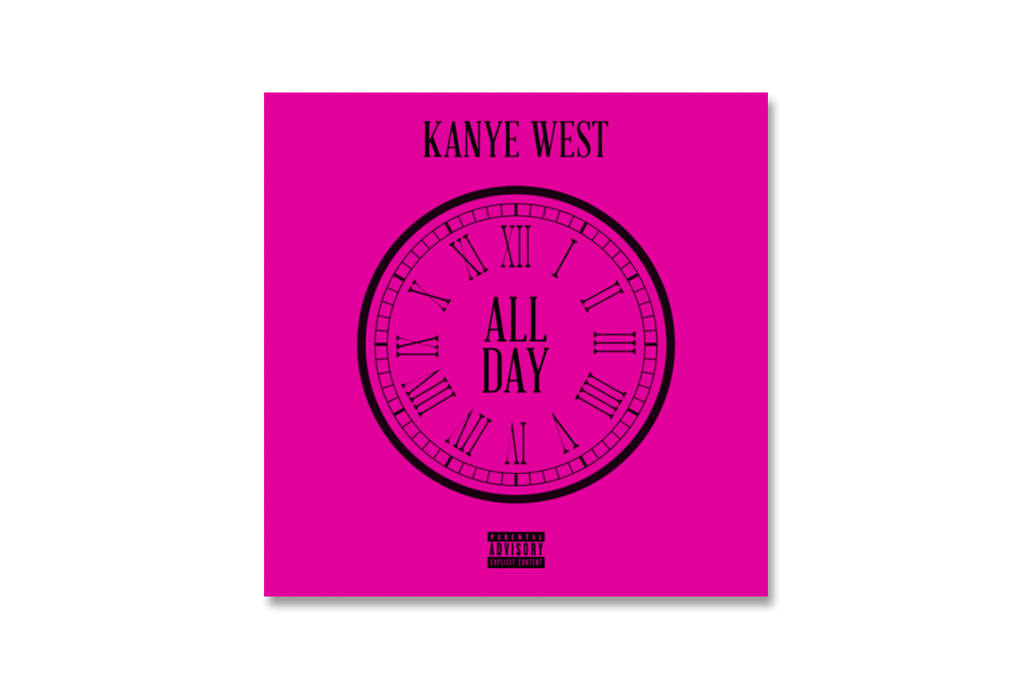 kanye wests all day single leaks