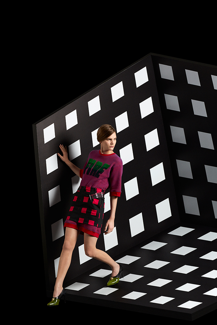 "KENZO 2014 Fall/Winter ""Neon"" Editorial by Laetitia Hotte"