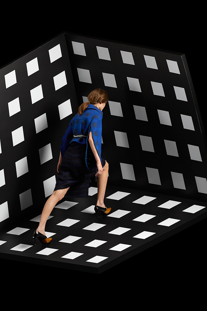 kenzo 2014 fall winter neon editorial by laetitia hotte