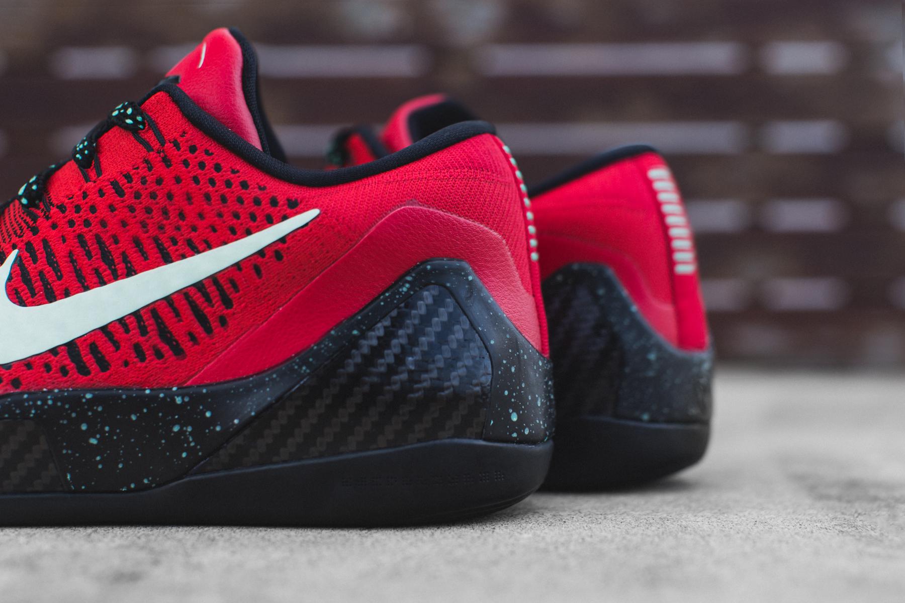 Nike Kobe 9 Elite Low University Red/Black