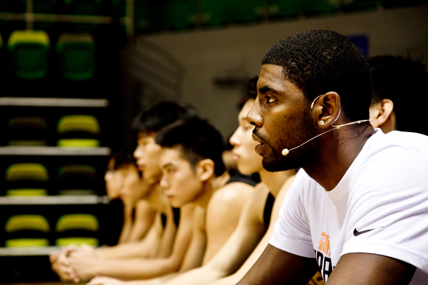 kyrie irving talks shoes the number one draft pick and more