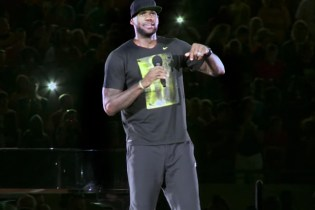 LeBron James Hosts a Welcome Home Party of 30,000 in Akron