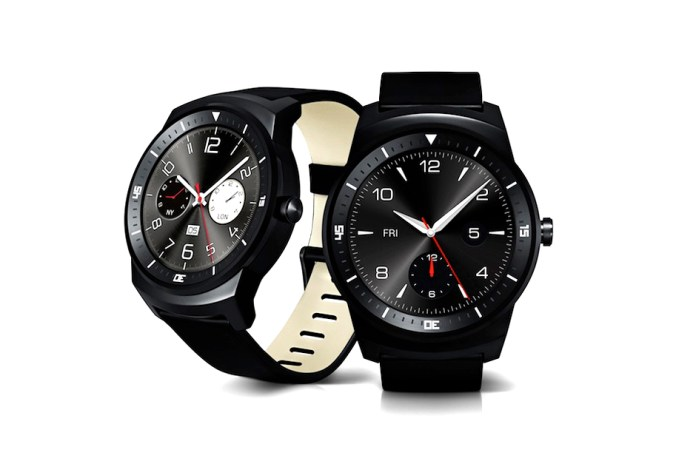 LG Officially Unveils Circular G Watch R