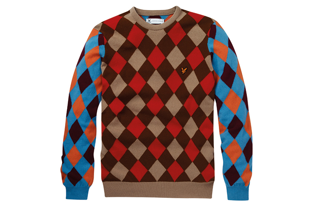lyle scott x jonathan saunders fall winter 2014 collection