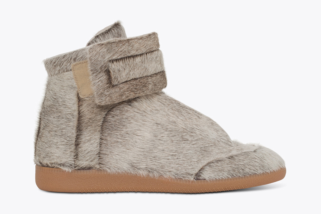 maison martin margiela releases kanye wests yeezus tour sneaker