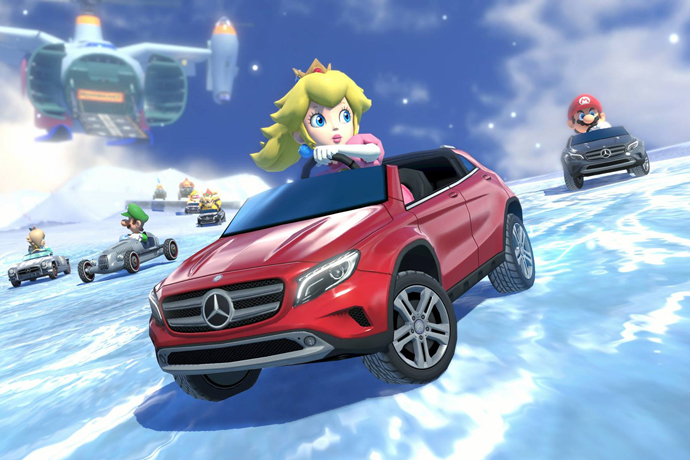 Mario Kart 8 to Feature Vintage Cars from Mercedes-Benz