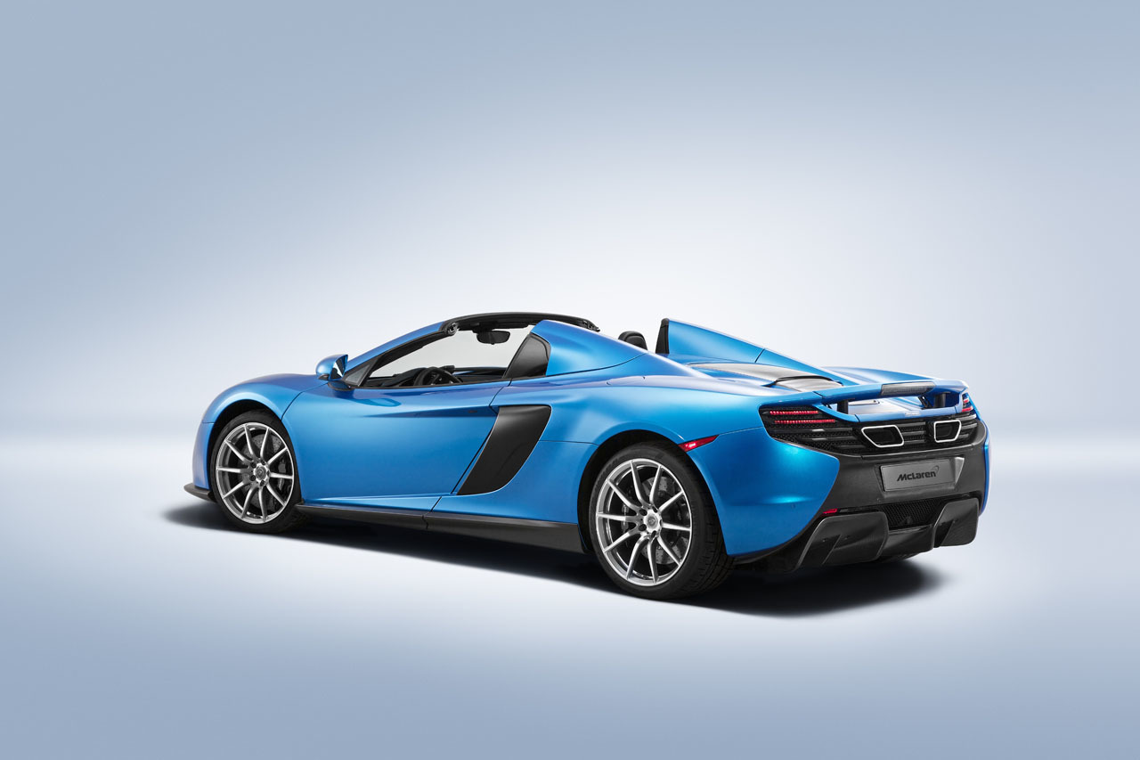 mclaren unveils special operations editions of the p1 650s spider