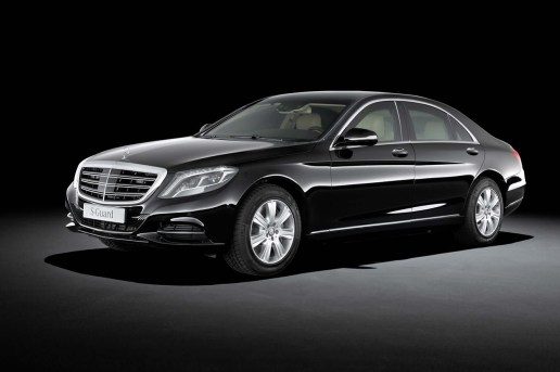 Mercedes-Benz Reveals the Armored S600 Guard