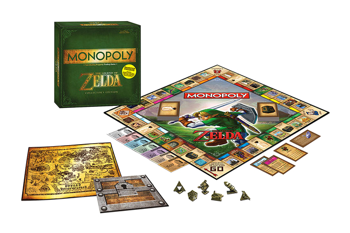 Monopoly The Legend of Zelda Edition