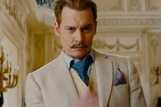 Mortdecai Official Trailer