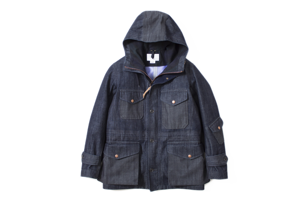 nanamica 2014 fall winter denim gore tex outerwear
