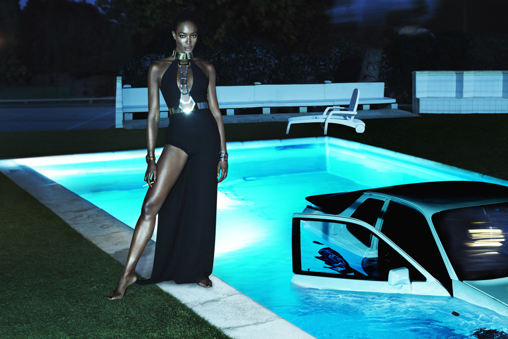 Naomi Campbell by Mert & Marcus for Interview Magazine
