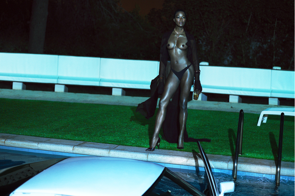 naomi campbell by mert marcus for interview magazine