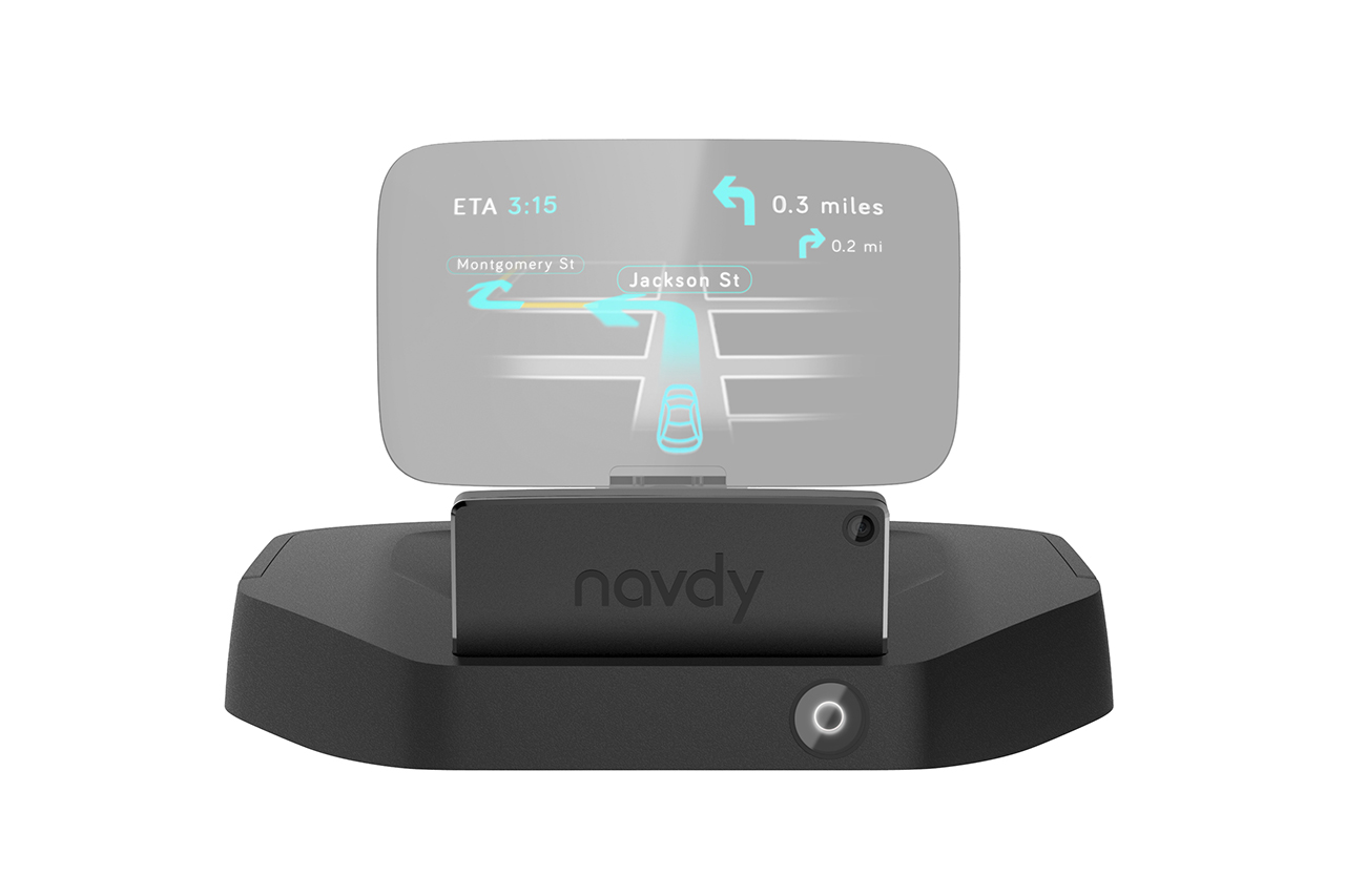 Navdy: A Transparent Display for the Car