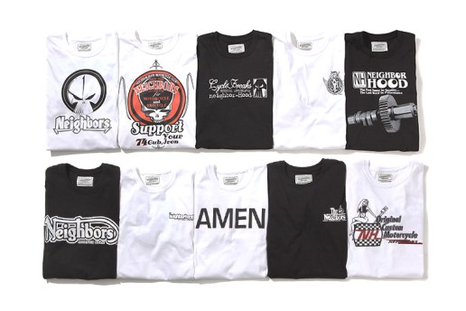 NEIGHBORHOOD 20th Anniversary T-Shirt Collection