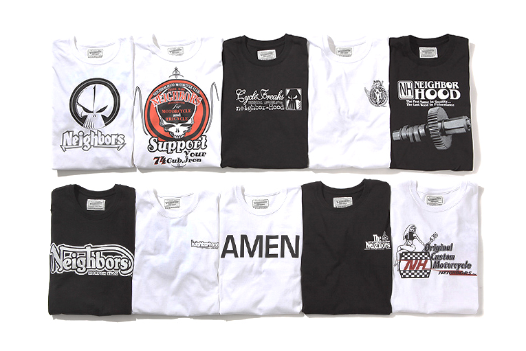 neighborhood 20th anniversary t shirt collection