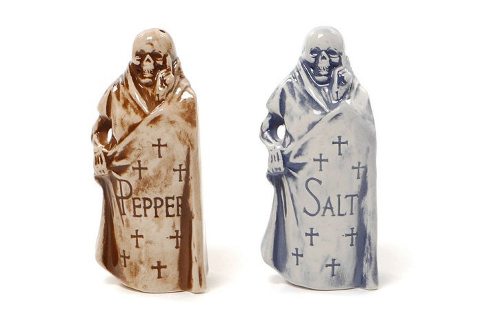 NEIGHBORHOOD Booze Reaper Salt & Pepper Shakers
