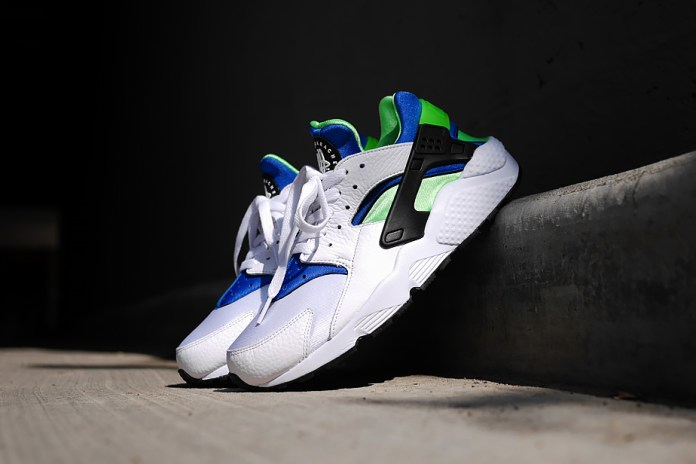"Nike Air Huarache ""Scream Green"""
