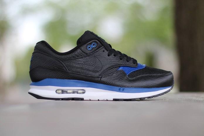 Nike Air Max Lunar1 Deluxe Black/Gym Blue-White