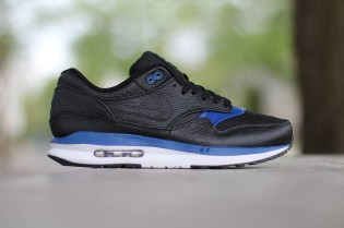 Nike Air Max Lunar1 Deluxe Black/Gym Blue-White