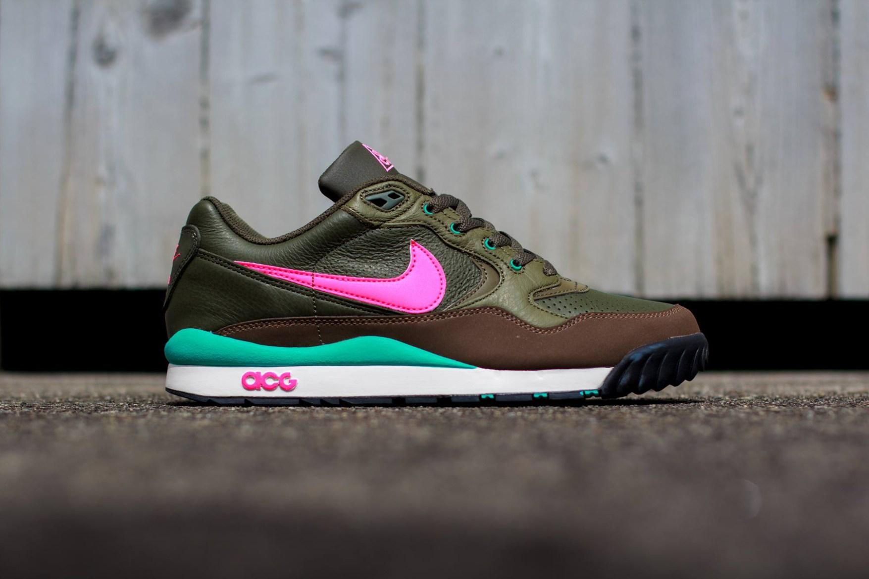 Nike Air Wildwood LE Khaki/Pink-Olive