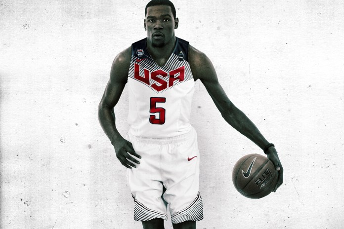 Nike Basketball Unveils the Brand New Team USA Uniform