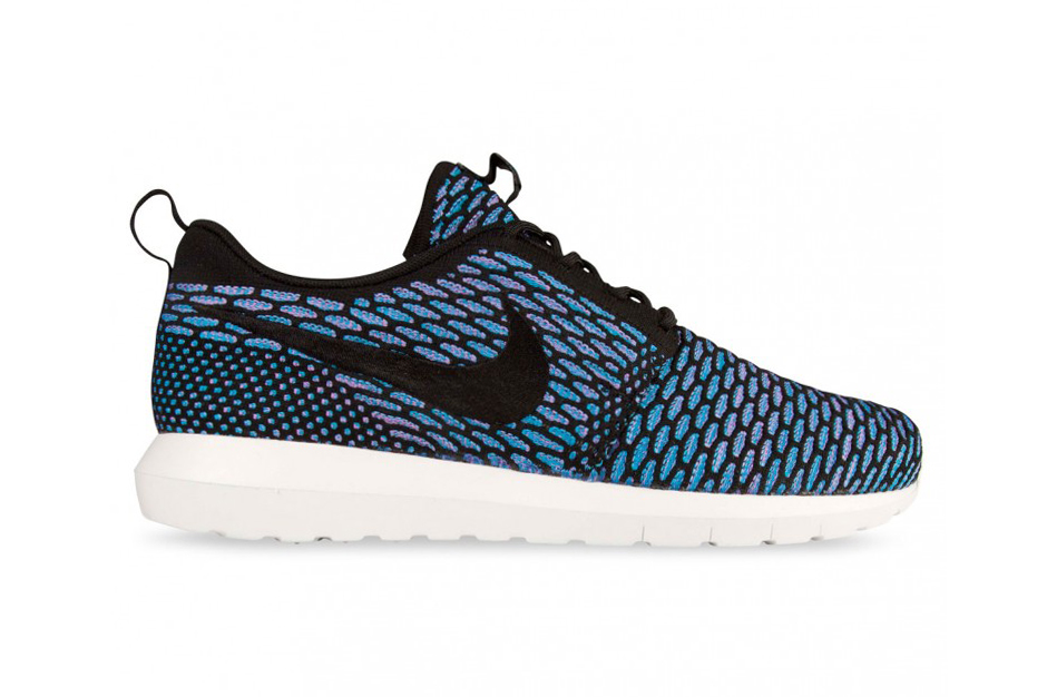 Nike Flyknit Roshe Run NM Turquoise & Black