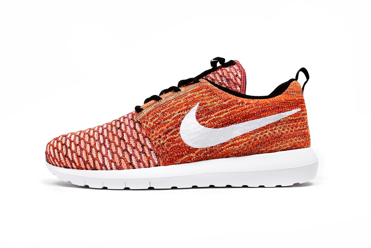 """Nike Flyknit Roshe Run NM """"Sunset"""" Pack"""