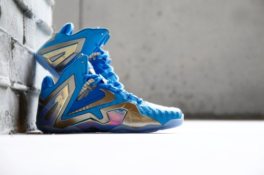 "Nike LeBron 11 Elite ""Blue 3M"""