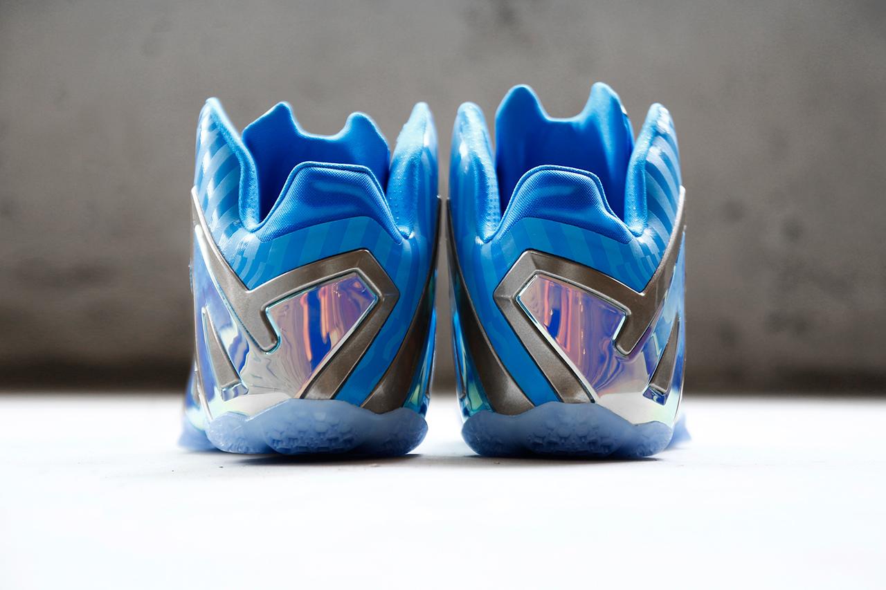 "Nike LeBron 11 Elite ""Blue 3M"""