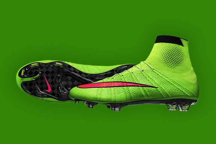 nike mercurial superfly se electric green