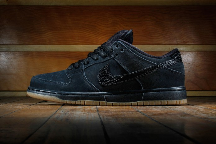Nike SB Dunk Low Pro Black/Gum Medium Brown
