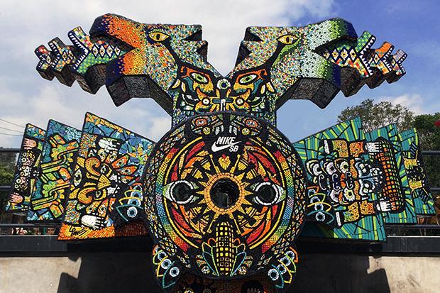 Nike SB Templo Mayor Skatepark Heavily Features Aztec Inspirations