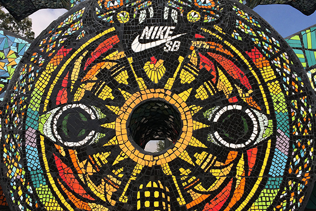 nike sb templo mayor skatepark features heavily in aztec inspirations