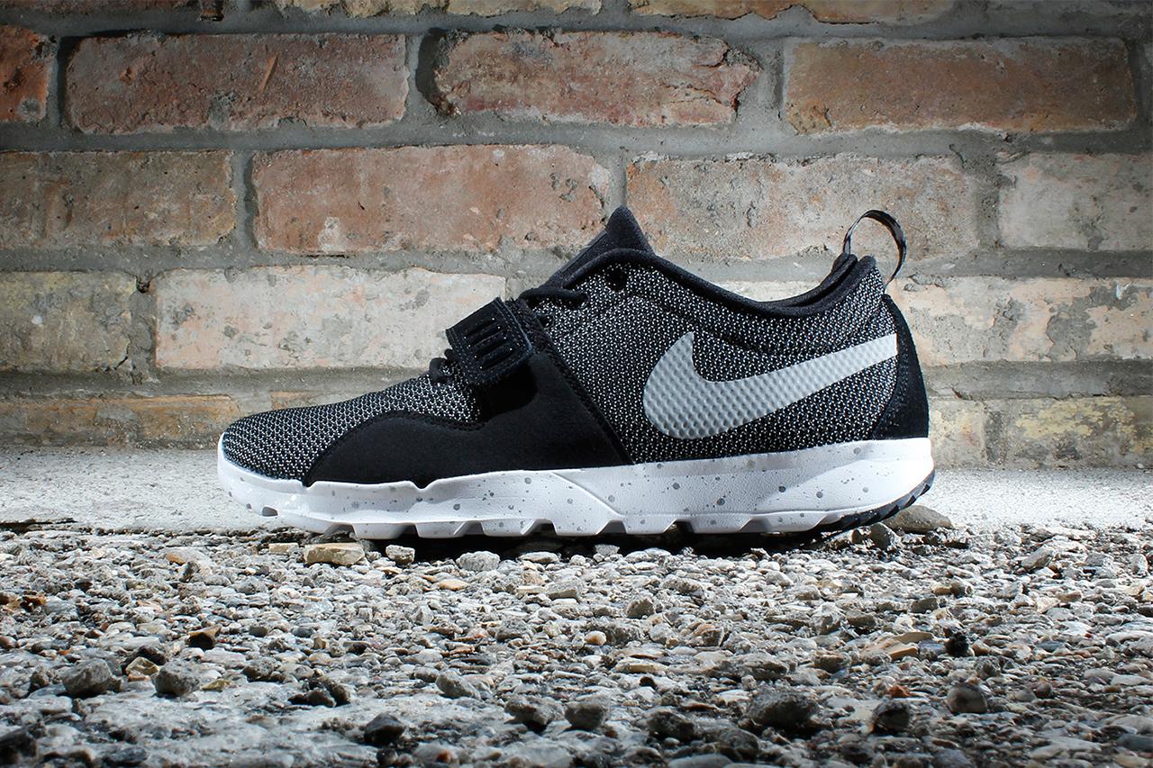 Nike SB Trainerendor Black/White-Metallic Silver